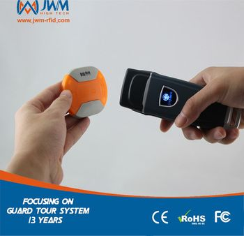JWM Waterproof IP67 Durable RFID Guard Tour Patrol System with Free Cloud Softwre