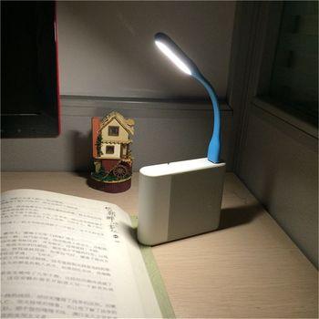 FFFAS Mini Flexible USB Led USB Lumière Lampe de Table Gadgets usb main lampe Pour La banque D'alimentation PC pc portable Android téléphone OTG câble
