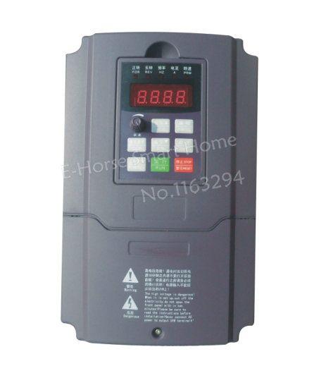 RiLiPu Inverter Frequency Converter Free shipping 7.5KW / 3ph 380V vector Inverter converter
