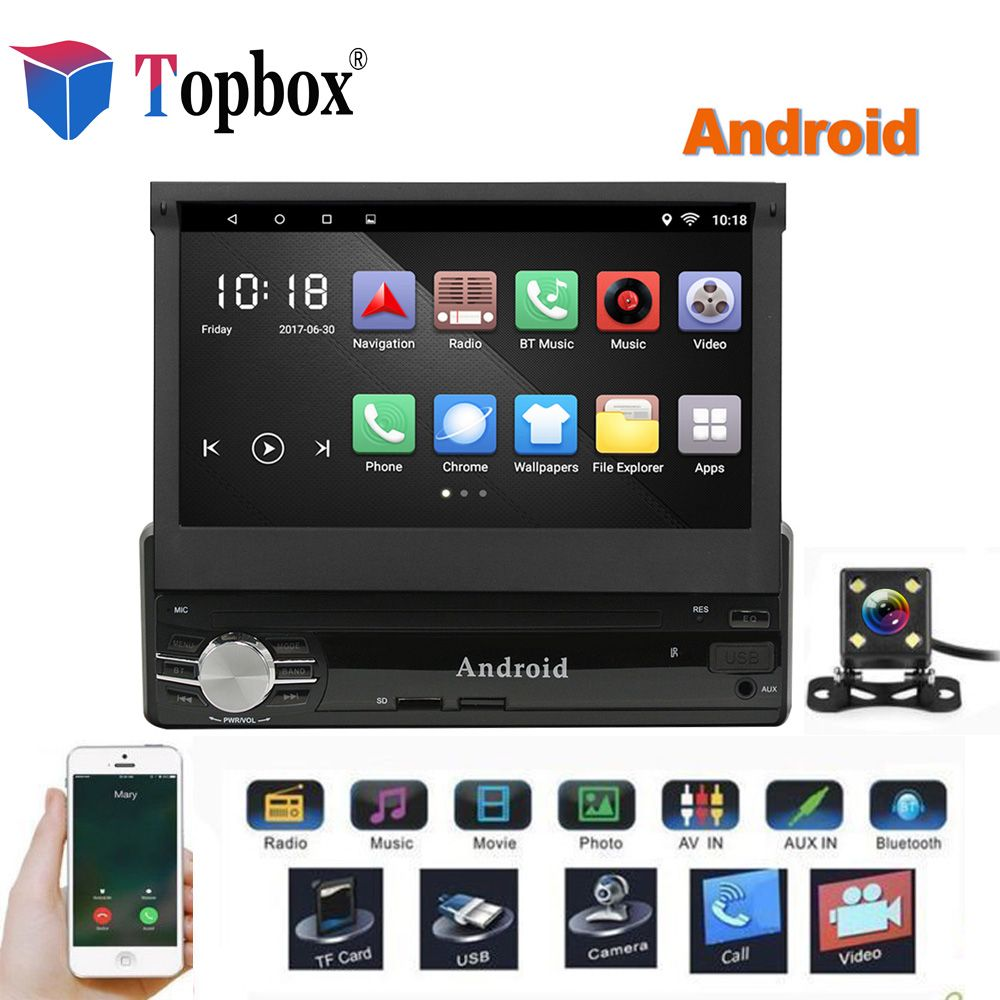 Topbox 1Din Android Car Multimedia 7