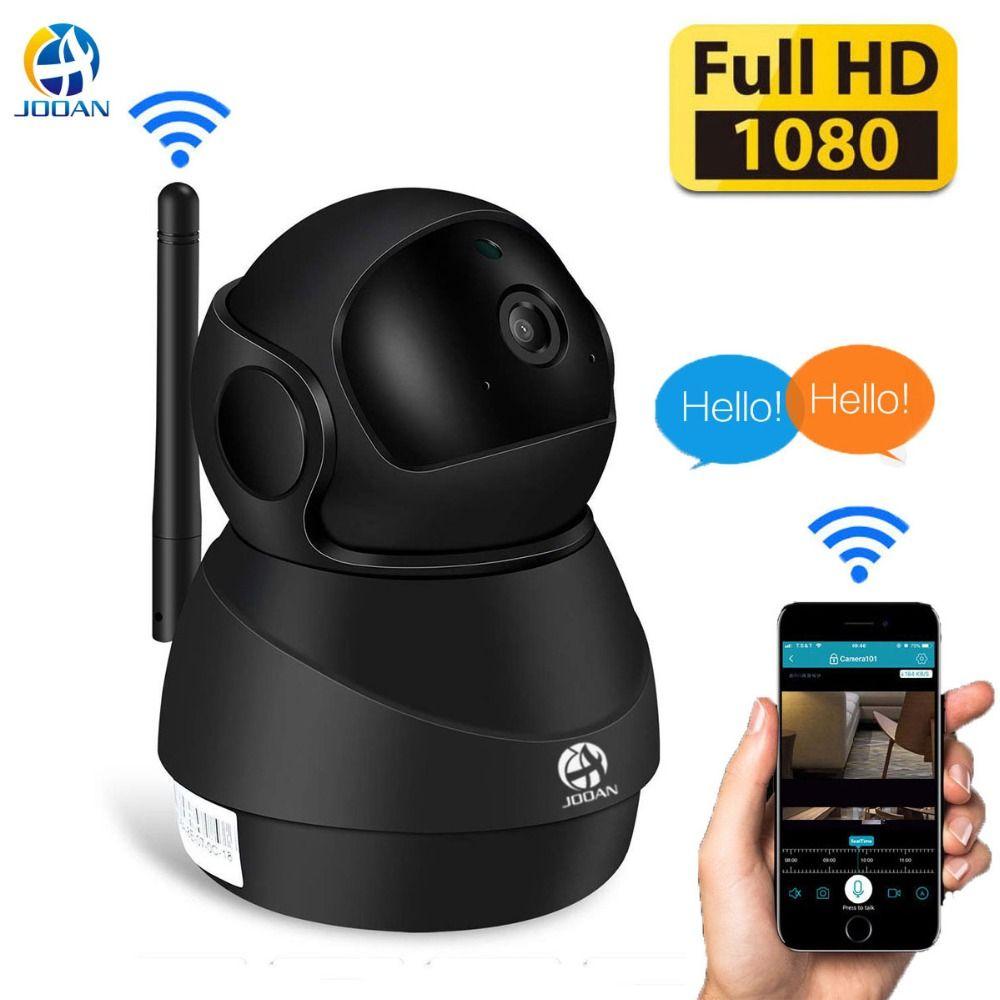 JOOAN Sans Fil moniteur pour bébé Caméra IP wifi 1080 P HD smart Home Security 10 m vision nocturne Vidéo Surveillance Caméra Intérieure
