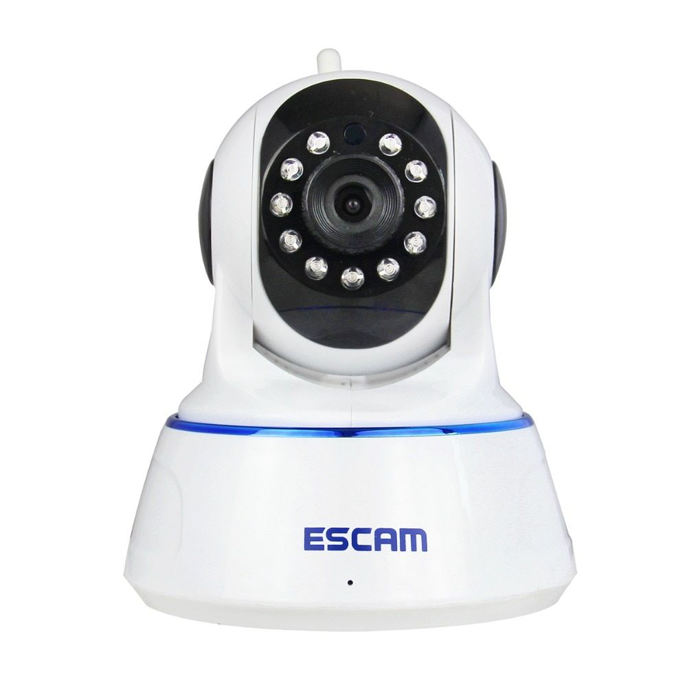 Escam QF002 HD 720P Wireless IP Camera Day Night Vision P2P WIFI Indoor Infrared Security Surveillance CCTV Mini <font><b>Dome</b></font> Camera