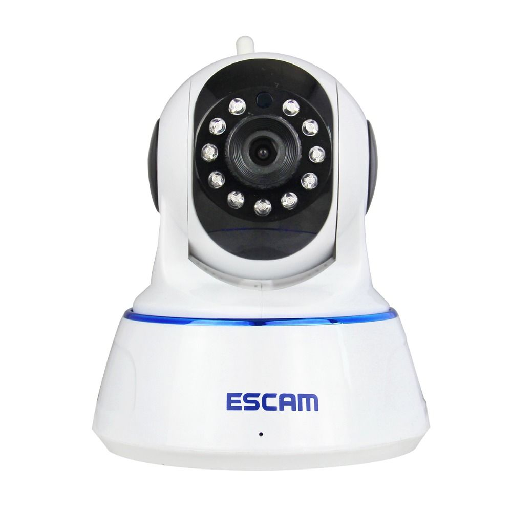 Escam QF002 HD 720P Wireless IP Camera Day Night Vision P2P WIFI Indoor Infrared Security Surveillance CCTV Mini Dome Camera
