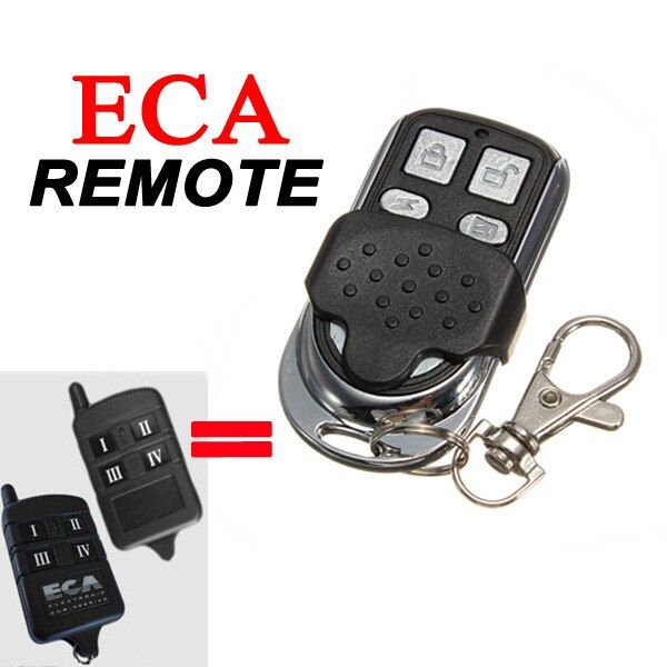 4Button ECA Garage Gate Remote Key Control Opener Operator Compatible Electronic