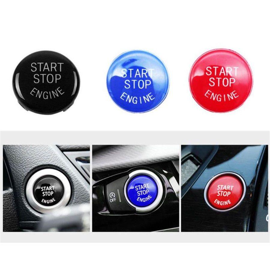 Für X5 E70 X6 E71 3 E90 E91 E92 E93 E87 E83 E89 320 520 525 328i (2007- 2011) 335i 330i Start Stop Motor Taste Schalter Abdeckung