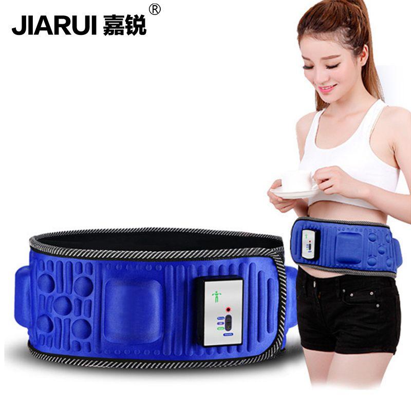 Slimming Belt Electric Weight Lose Sauna Belt Vibration Massage Burning Fat Lose Weight Shake Belt Waist Trainer
