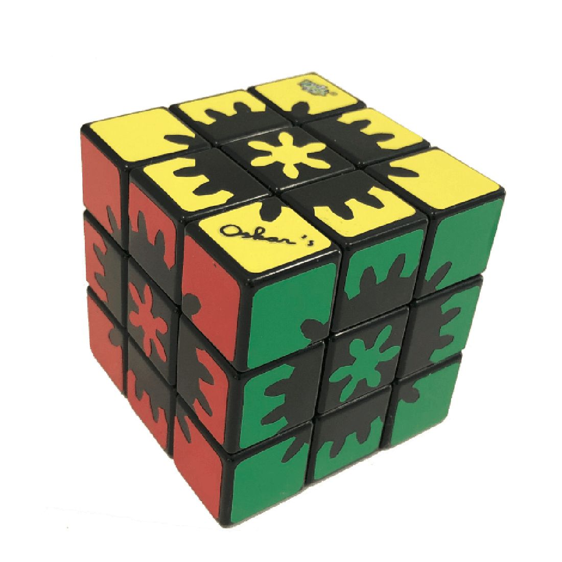 Oculta de Engranajes LanLan 3x3 Cubo Mágico Cubo de la Velocidad Puzzle Toy-Colorido
