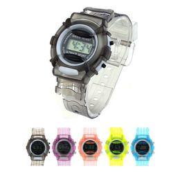 Gemixii Fashion Olahraga Watch Anak Laki-laki dan Perempuan Anak-anak Siswa Tahan Air Pergelangan Tangan Digital Olahraga Watch Pin Gesper Tali Plastik