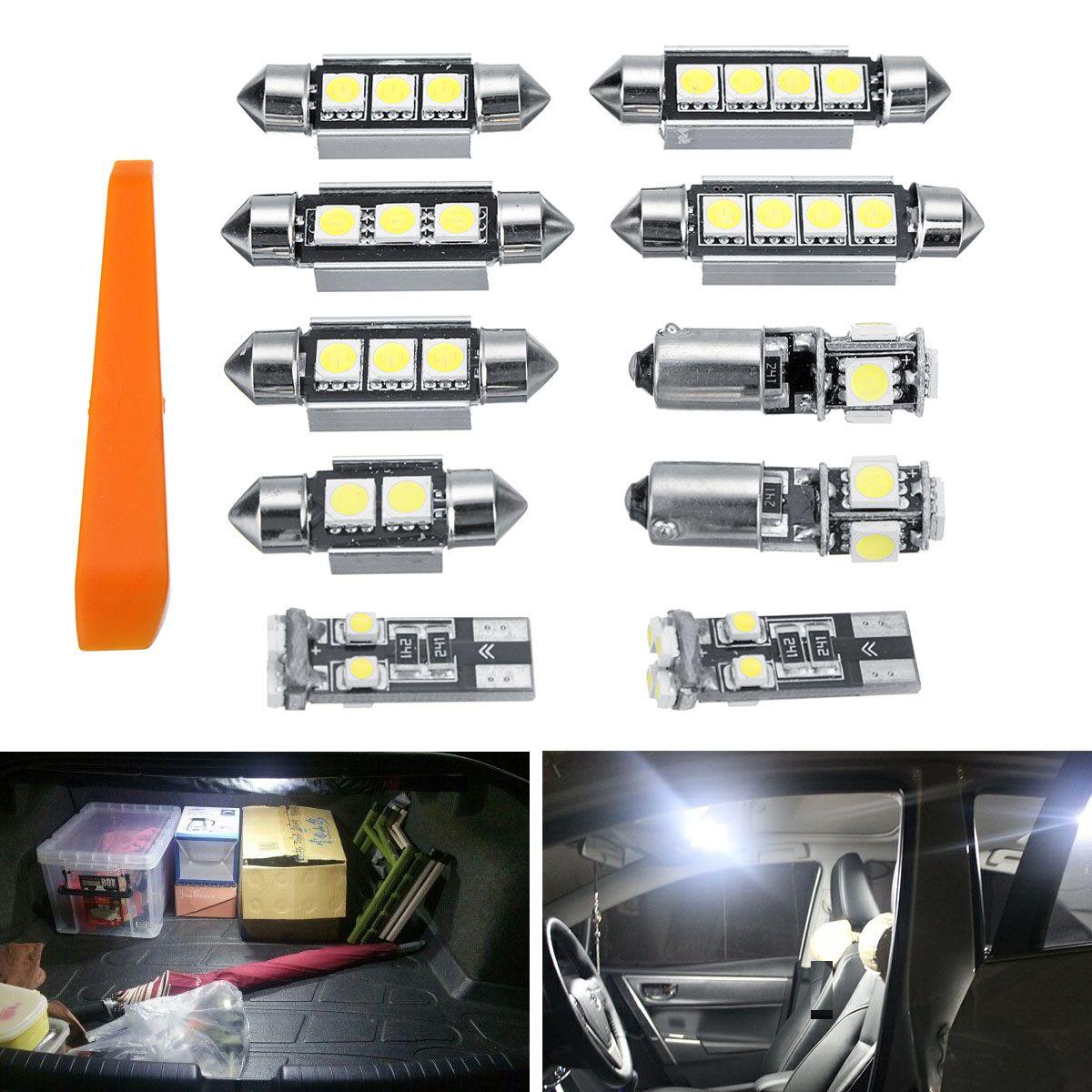 Mofaner 10 stücke Fehler Freies Lichter SMD LED Innen Lichter Kit Für Volkswagen für VW MK4 Golf GTI Jetta 1999 -2005