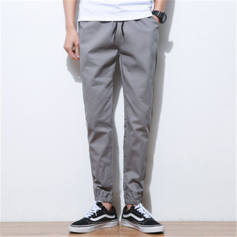 2018 foreign trade close small feet casual nine pants men's beam pants large size men's pants AXM01