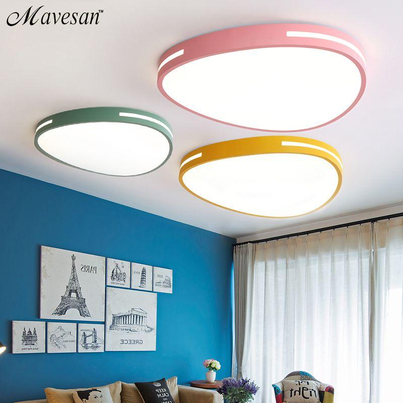 Modern led ceiling lights for Living room Bedroom Kitchen luminaria led ultra-thin 5CM hall luminaria led ceiling lamp