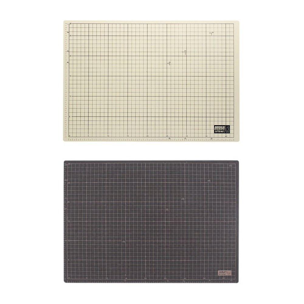 Double side PVC Rectangle A3 Cutting Mat Self Healing Craft Cutting Pad Cushion Plate Tool 45x30cm Sewing Cutting Board