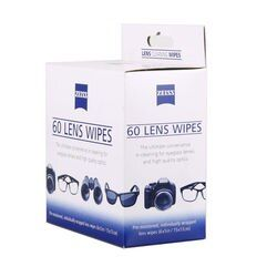 wholesale price 60 counts ZEISS screen antibacterial cleaning wipes paper pad cloth