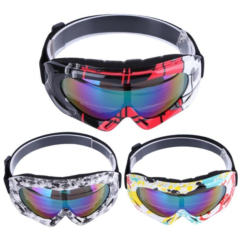 Snow Winter Sports Skiing Snowboard Snowmobile Anti-fog Goggles Windproof Dustproof Glasses Skate Ski Sunglasses Eyewear