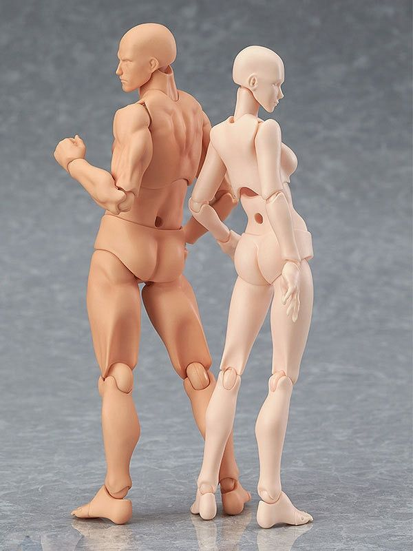 Anime Archetype Ze Ferriet Figma Movable BODY KUN BODY CHAN PVC Action Figure Model Speelgoed Pop voor Collectible