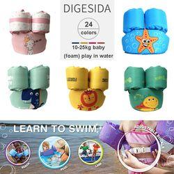 Puddle Jumper Anak Berenang Cincin Bayi Jaket Bayi Life Vest Anak Olahraga Air Busa Gelang Age2-6 Polyester serat