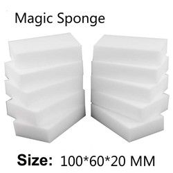 100Pcs/40pcs Magic Sponge Eraser Kitchen Office Bathroom Clean Accessory/Dish Cleaning Melamine Sponge Nano 100*60*20mm