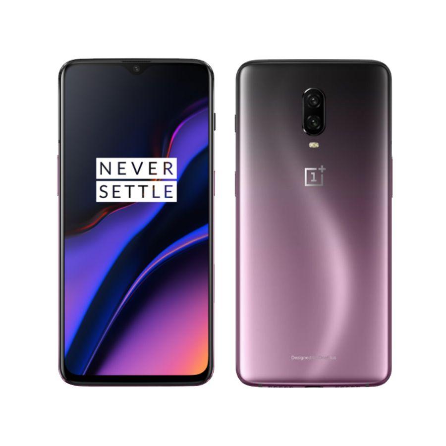Original Neue 6,41 Oneplus 6T A6010 Handy 8GB RAM 128G ROM Snapdragon 845 Octa Core fingerprint Recognitioan Smart Telefon