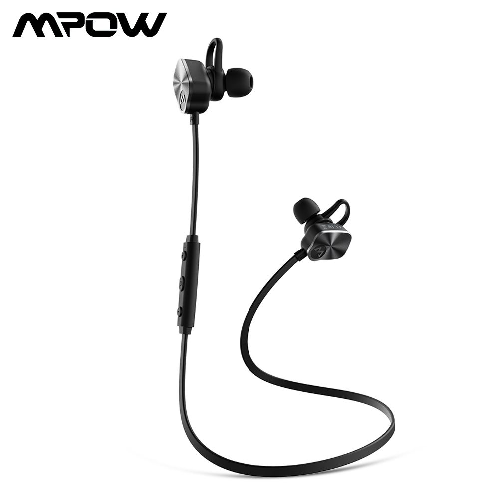 Mpow BH29 Coach Wireless Bluetooth 4.1 Headphones Stereo Sweatproof Headset With Builtin HD Mic Stereo Handsfree Sport Headphone