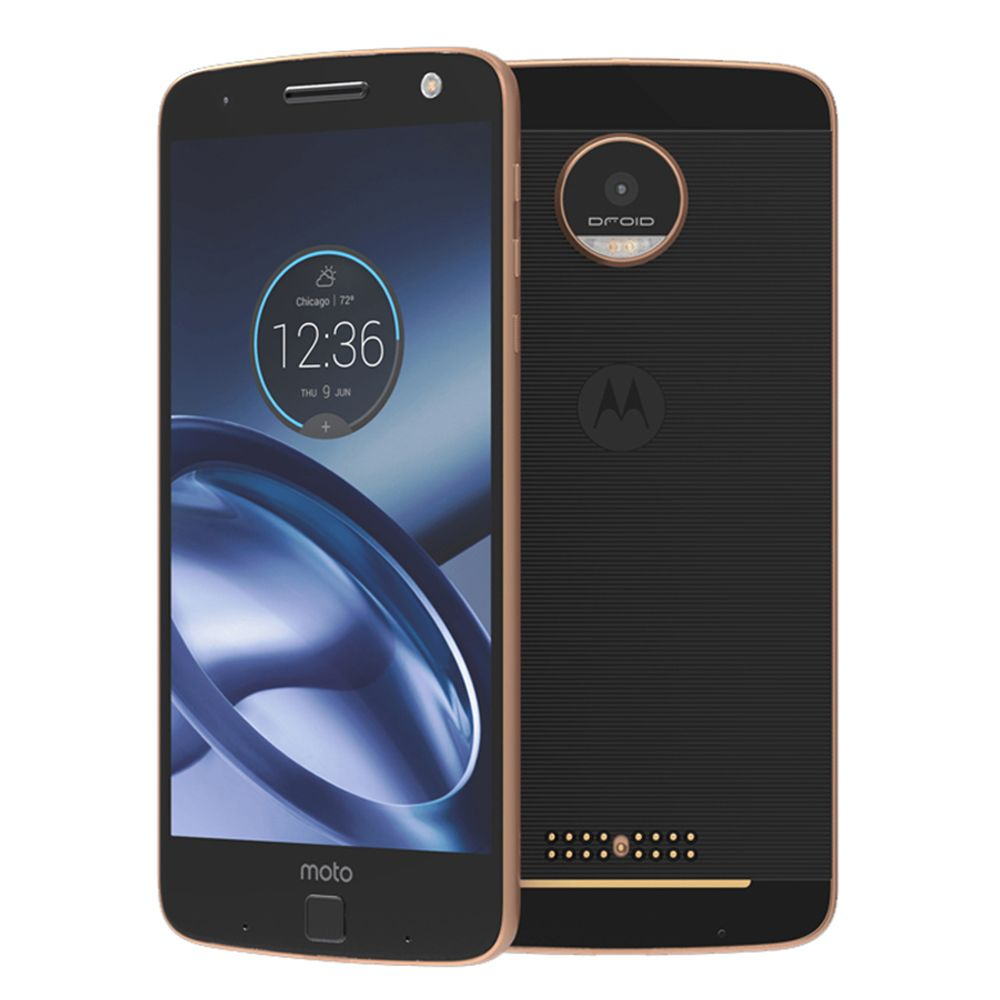 NEW Motorola MOTO Z XT1650-05 4GB RAM 64GB ROM 5.5'' Android 13.0MP NFC 2560*1440 4G LTE Moto Z 2600mAh Mobile Phone