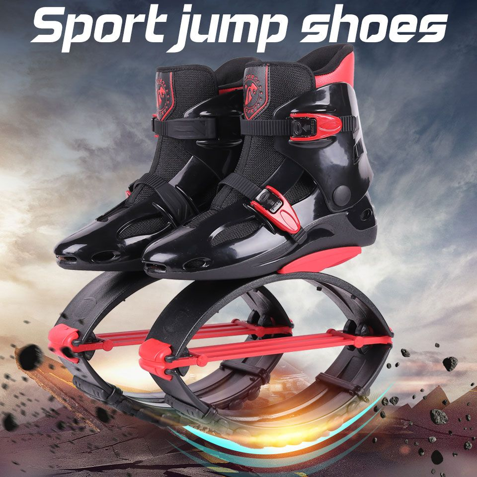 Adults Sneakers Jumping Boots kangaroo jumping Shoes Bounce Sports Jumps Shoes Size 19/20