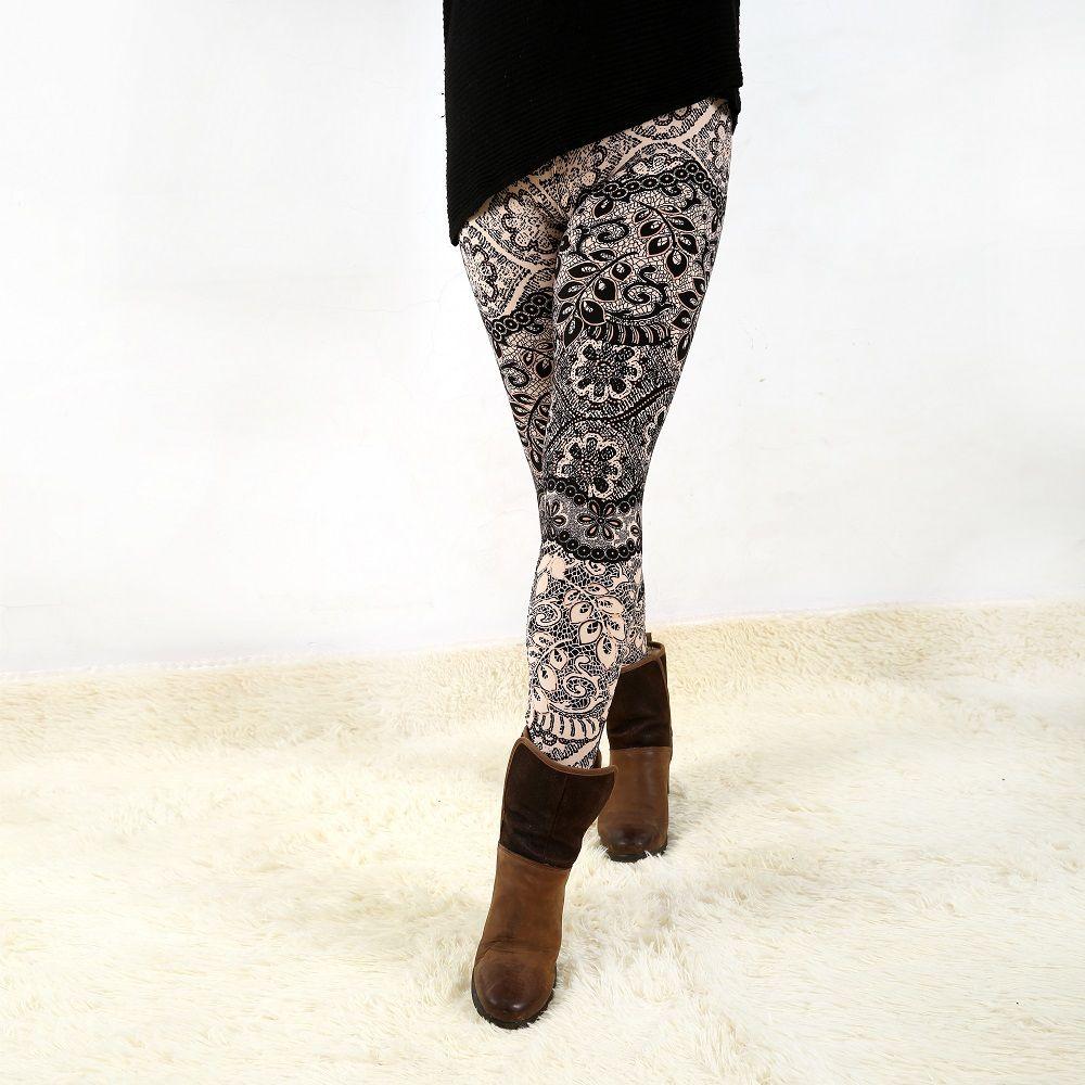 928 femmes bas haute élastique pantalon capris leggings confortables le style européen et américain populaire imprimé livraison gratuite