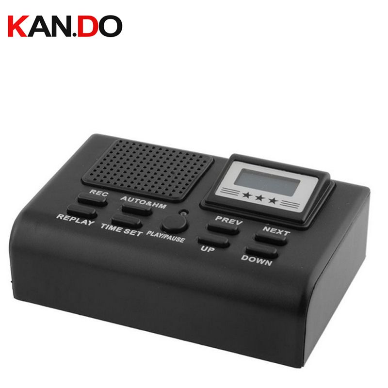 voice activated telephone recorder 1GB record 35hour telephone monitor Landphone monitor replay function audio recorder device