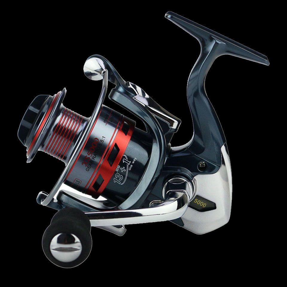 Marche poisson 13 + 1BB filature pêche bobine métal XS1000-7000 série filature moulinet de pêche