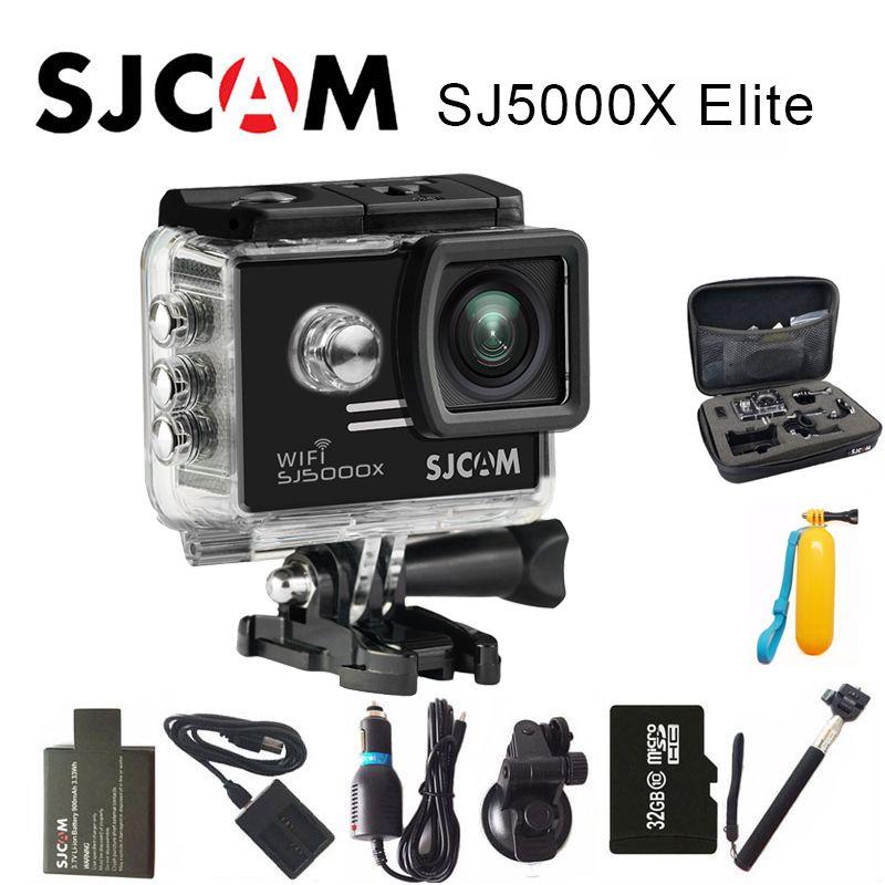 Original SJCAM SJ5000X Elite Action Camera 4K Sports DV WiFi Gyro Diving 30M Waterproof SJ Cam Mini Camcorder 2