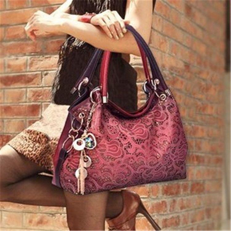 Hot 2018 women messenger bags beautiful Women Handbag fashion printing Flowers bag sweet women handbag