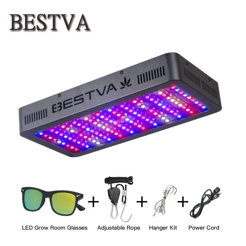 BestVA 300/600/800/1000/1200/1500/1800/2000 watt/3000 watt led wachsen licht Gesamte Spektrum für gewächshaus indoor pflanzen samen veg blüte