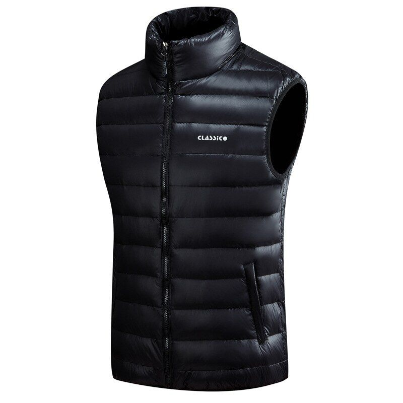 high quality Hot sale men's vests windproof and thermal down vest