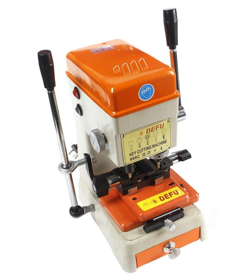 Defu 998c Cutter Best Key Cutting Machine Ford 220v to 240v or 110v to 130v Voltage Locksmith Tools