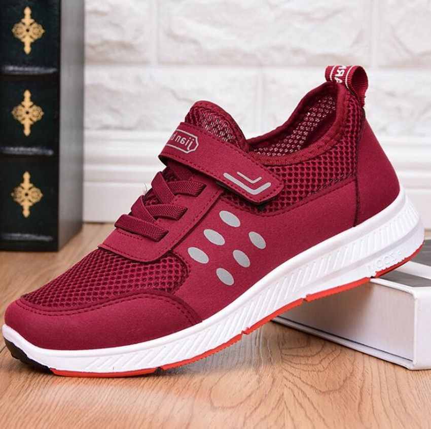 2018 summer new middle school students casual breathable hollow shoes