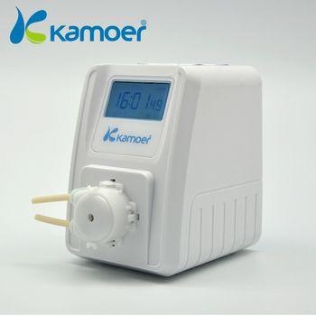 Kamoer KSP-F01A Montant Réglable Pompe Péristaltique (LCD, montant Réglable, haute Précision, petite Pompe Péristaltique, Pompe À liquide)