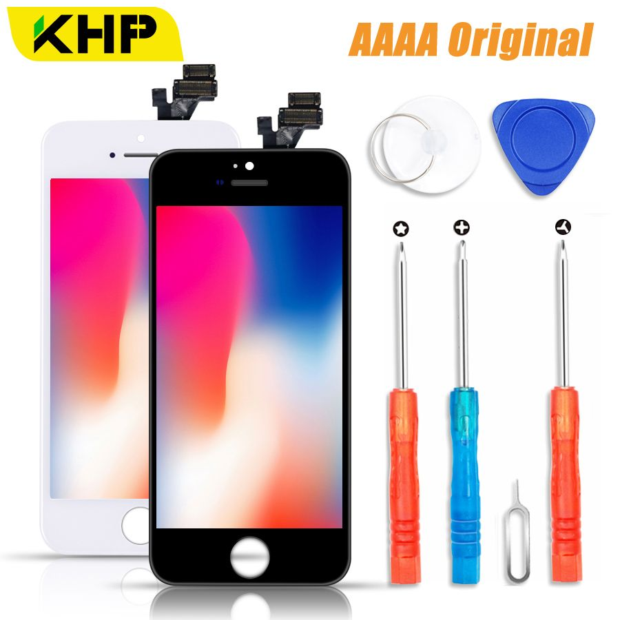 2018 KHP 100% AAAA Original LCD Screen For iPhone 5S 5 SE 5C Screen LCD Display Digitizer Touch Module 5S SE Screens Replacement