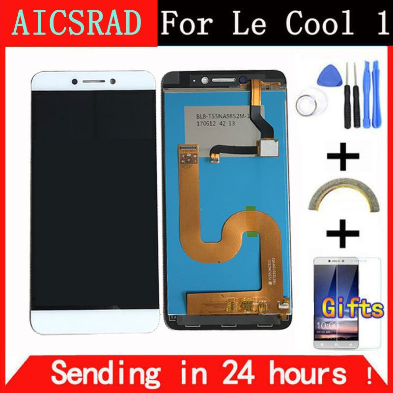 AICSRAD LCD Display For Cool1 Dual C106 Touch Screen Digitizer Assembly Replacement For <font><b>Letv</b></font> Le LeEco Coolpad Cool 1