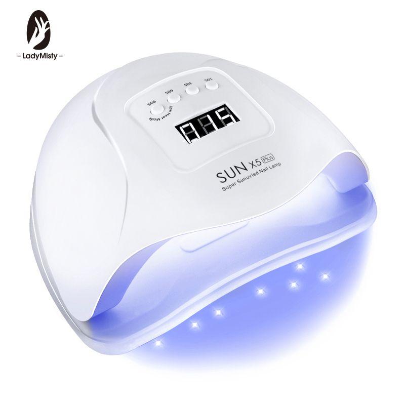 54 W SUN X 5 Plus lampe à LED sèche ongles LED 36 LED s UV lampe à glace sèche pour séchage Gel vernis à ongles automatique capteur minuterie manucure outils