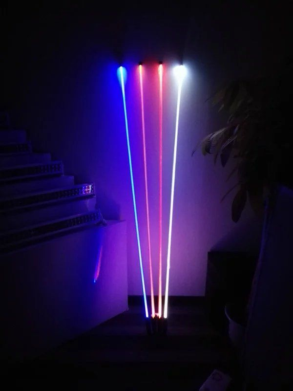 1.5M LED antenna light New Night Stalker Motocross ATV UTV Sand Dune Flag LED Bar For Outdoor Offroad Snowmobile Motorcycle