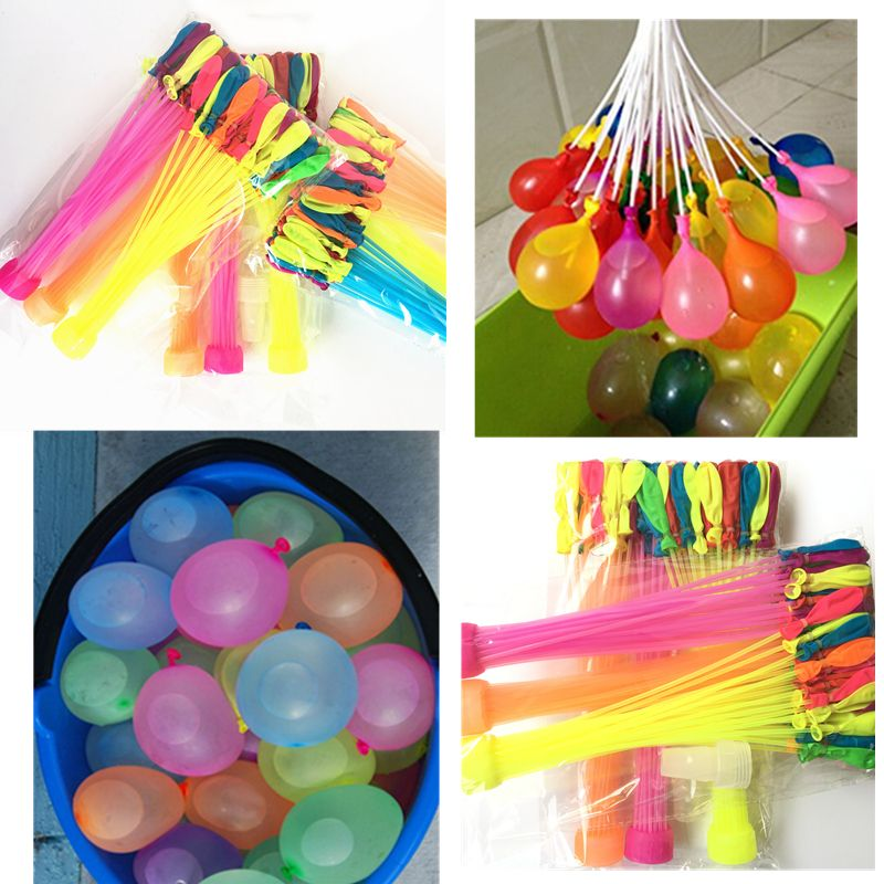 111pcs/bag Summer Magic Bomb Water Balloons Bunch T Of Balloons Tied Kids Garden Already Party Dropshipping Toys For Children