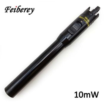 10mW Visual Fault Locator VFL Fiber Optic Cable Point Tester for Optical Fiber Tracing , Routing and Continuity Checking