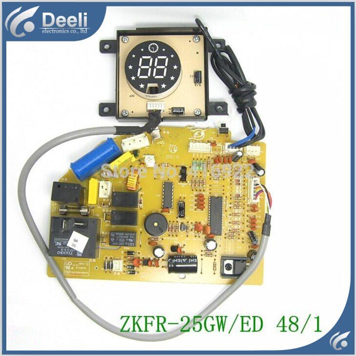 95% new Original for Chigo air conditioning Computer board ZKFR-25GW/ED 48/1 PC board display board 2pcs/set