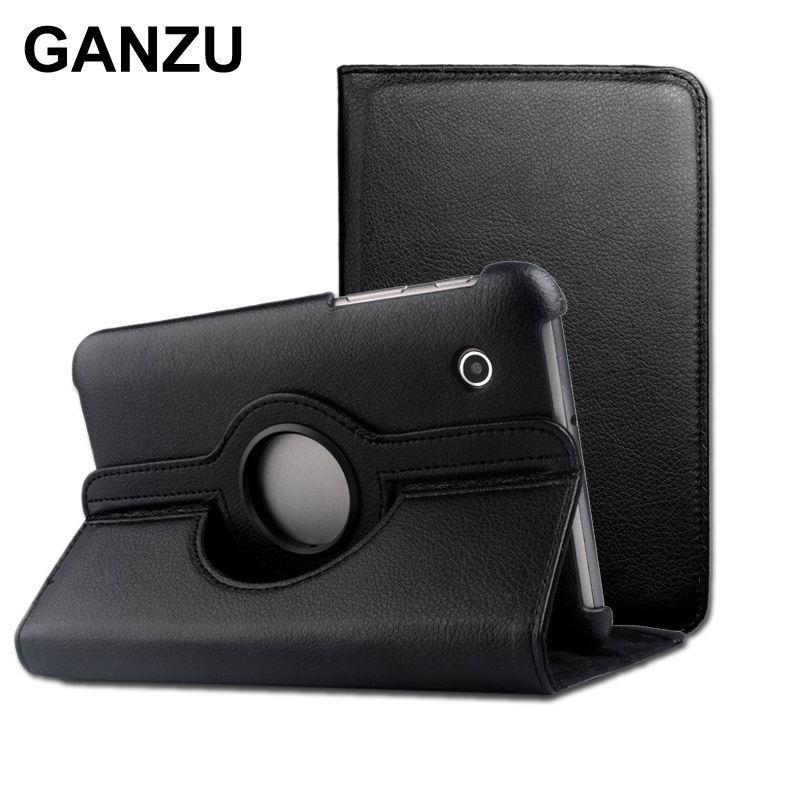 Rotation 360 PU Housse En Cuir Pour Samsung Galaxy Tablet 7.7 pouces P6810 P6800 qualité supérieure Livres Cas Avec Support Étui