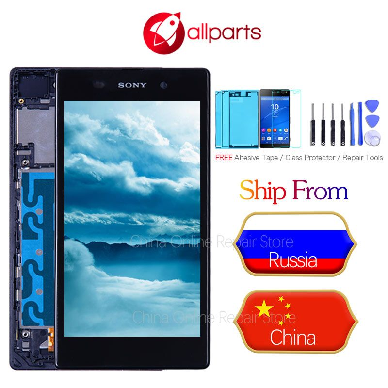 5.0'' LCD For SONY Xperia Z1 Display Touch Screen Digitizer L39 L39H C6902 C6903 For SONY Xperia Z1 Display