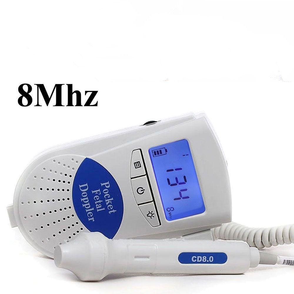 Gefäßdoppler monitor/Hintergrundbeleuchtung LCD mit kostenlosen Gel CE/FDA Genehmigt, Sonoline B mit 8 MHZ sonde CONTEC