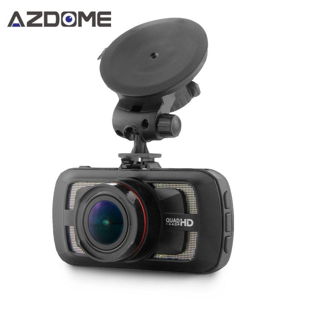 Azdome DAB205 Car DVR Camera Ambarella A12 Chip HD 1440p 30fps Video Recorder With G-sensor HDR ADAS Cycle Recording Dash Cam