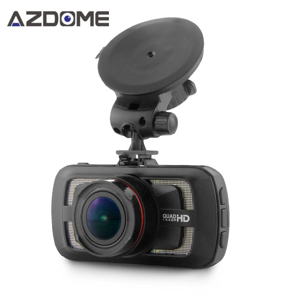Azdome DAB205 Car DVR Camera Ambarella A12 Chip HD 1440p <font><b>30fps</b></font> Video Recorder With G-sensor HDR ADAS Cycle Recording Dash Cam