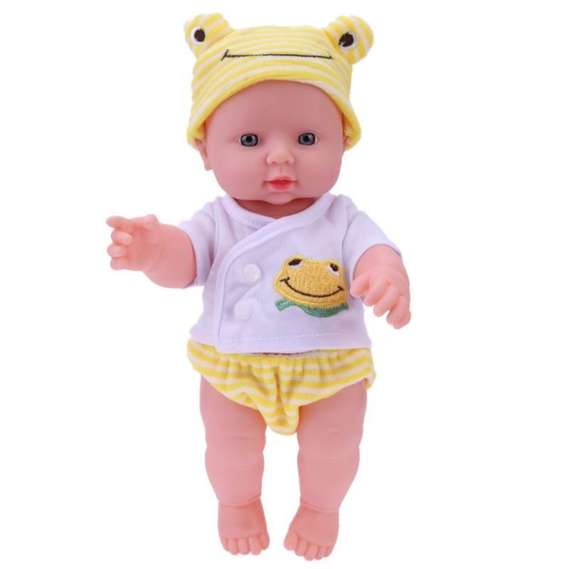 30cm Newborn Baby Stuffed Simulation Doll Soft Children Doll Toy  Children's Educational Toys Dolls Birthday Gift
