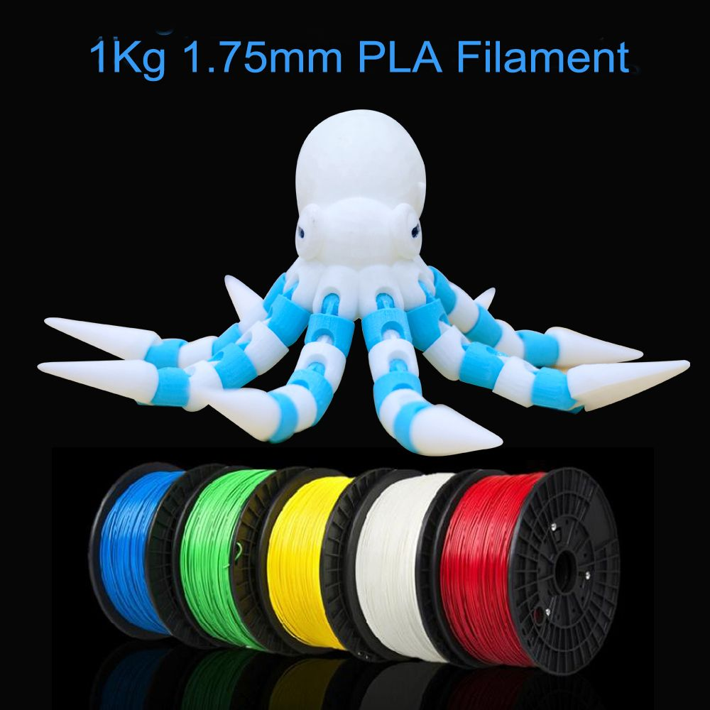 Free shipping 3D Printer Filament ABS/PLA 1.75mm material 1KG Plastic Rubber Consumables Material for 3D printer 3D pen