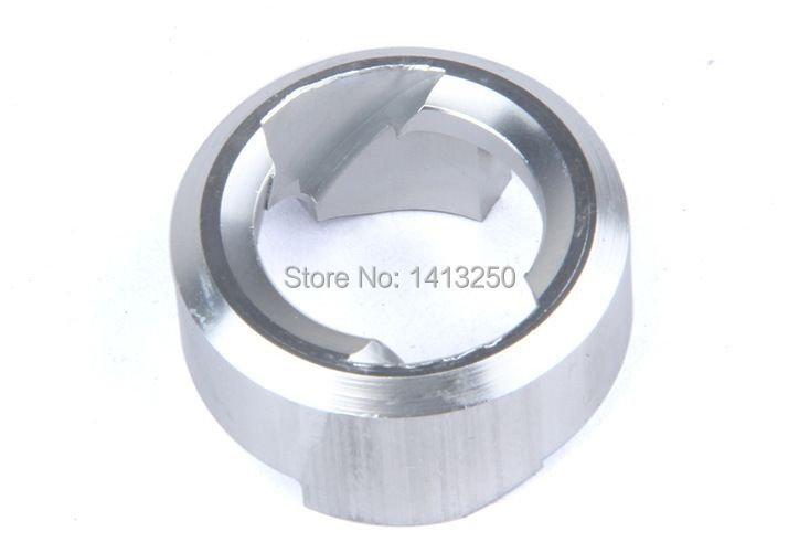 CNC turbine for pull starter(Optional silver and black) for new baja 5B parts,1/5 RC car parts
